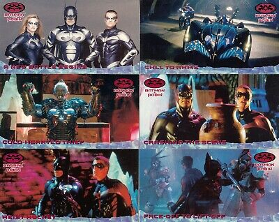 Batman And Robin Movie 1997 Fleer/Skybox Base Card & Storyboard Set 70 & 24 Dc