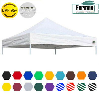 Eurmax 10x10 Tent Replacement Canopy Top Fit EZ UP Canopy CARAVAN Patio Shelter  sc 1 st  PicClick & NEW 10x10u0027 Ez POP UP Replacement Canopy Instant Gazebo Tent ...