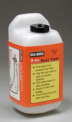 NEW Dubro S8 Square Fuel Tank 8 oz 408