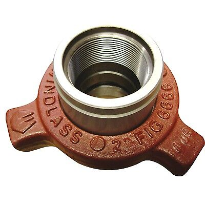 "Hammer Union 2"" Fig 6666 Threaded Guiberson Style"