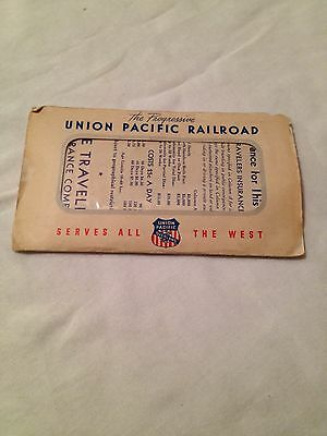 UNION PACIFIC and NORTHWESTERN 1940s STUBS, INTINERARY, AND 1964 TIMETABLE