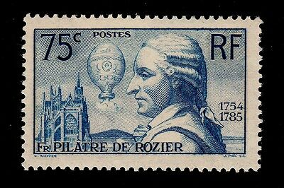 France   Scott# 308 Mnh   Balloonist Topical