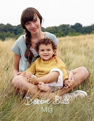 Debbie Bliss Mia Knitting Pattern Book