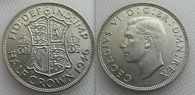Nice Collectable 1946 King George VI ,, Half Crown coin