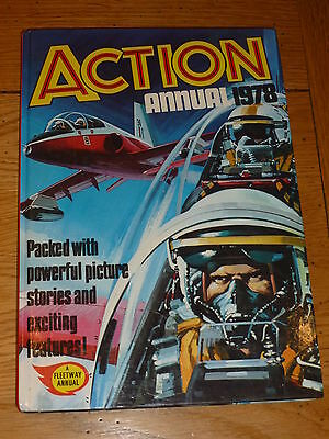 ACTION Annual - Year 1978 - UK Comic Annual ( Price Tab Intact )