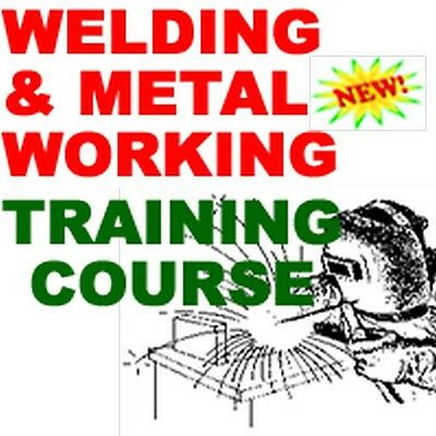 Welding And Metal Working Training Course Manual Cd