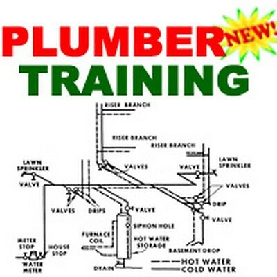 Plumber Plumbing Training Course Manual How To Cd
