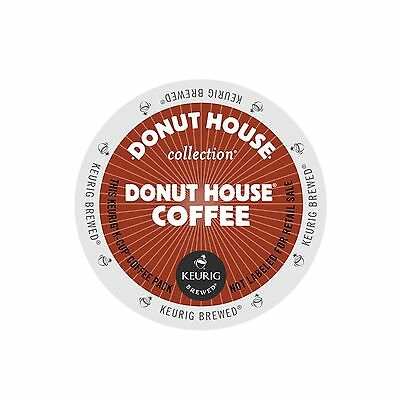 Donut House Collection, Donut House Coffee, Light Roast, Keurig K-Cups, 96-Count