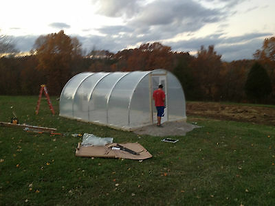 Hobby Greenhouse 12'x20' Quonset Style