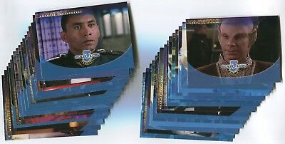 BABYLON 5 1999 Profiles base card LOT!!! NM/M 94 Cards #2