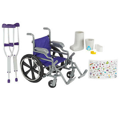 Journey Girls Wheelchair and Crutch Set