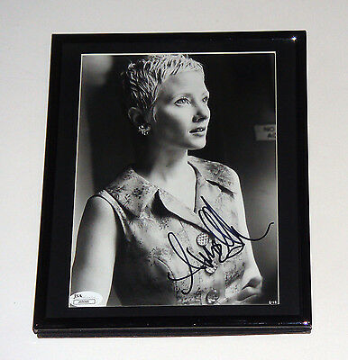 Anne Hecht 8x10 B/W Photo Signed Autographed Matted & Framed JSA COA CERT