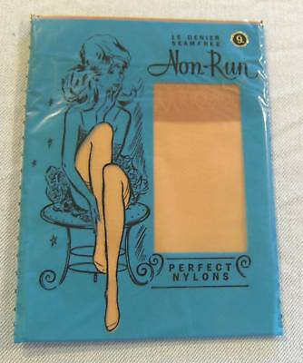 #t29.  Retro Nylon Stockings - Packaged, Size 9
