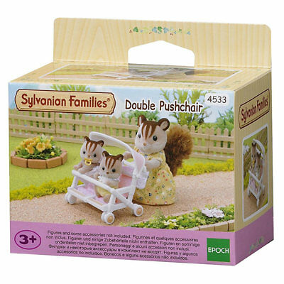 SYLVANIAN Families Double Pushchair 4533