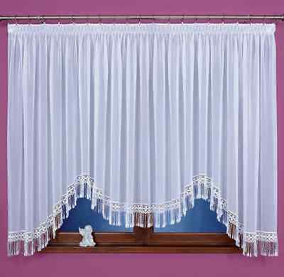 Beautiful Voile Net Curtain with Marvelous Lace, Home Window Decorations
