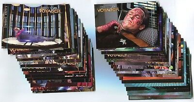 STAR TREK VOYAGER 1996 Season 2 Base Card Set LOT!!! 64 Cards NM/M Skybox