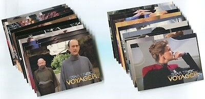 STAR TREK VOYAGER 1995 Season 1 Series 1  Base Card Set LOT!!! 72 Cards NM/M