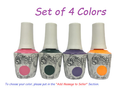 Harmony Gelish Soak-Off - SET OF ANY 4 COLORS x 0.5oz