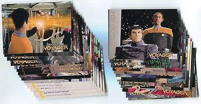 STAR TREK VOYAGER 1995 Season 1 Series 2 Base Card Set LOT!!! 81 Cards NM/M