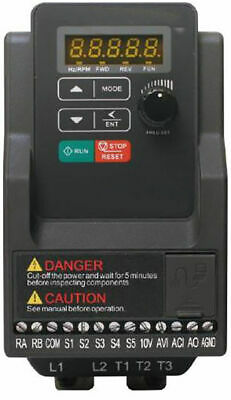 2.2kw 3 HP Single Phase In 240v Three Phase Out Motor Inverter AC Drive NEW