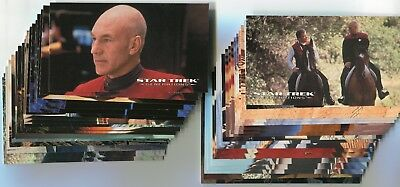 STAR TREK GENERATIONS Movie 1994 Trading Card LOT!!! NM/M 68 Cards Skybox