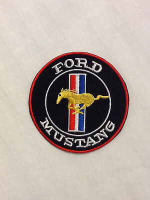 Ford Mustang SS Cobra Shelby Automobile Car Hat Jacket Embroidered Iron On Patch