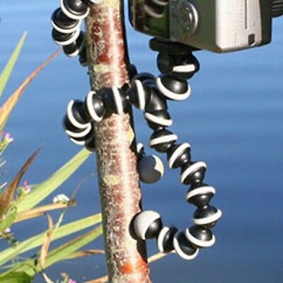 Large Octopus Stand Flexible Tripod Holder For Canon Nikon Sony Camera Iphone