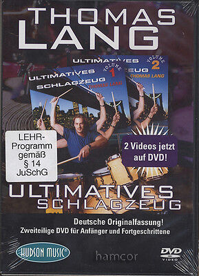 Thomas Lang Ultimatives Schlagzeug Drum DVD German