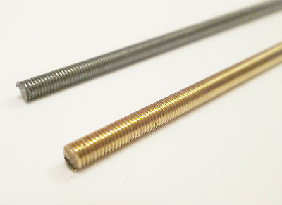 "M3 Threaded Rod (Studding) 12"" length / Model Engineering/live steam model"