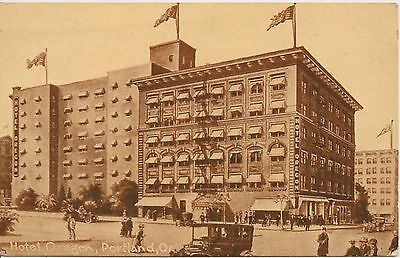 Hotel Oregon Portland OR Postcard