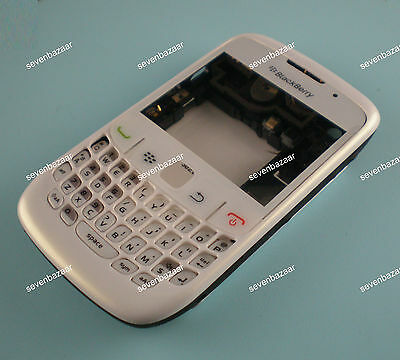Replacement Full Housing cover for White BlackBerry Curve 8520 8530 with Tools