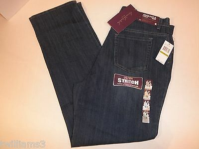 NWT Ladies GLORIA VANDERBILT Amanda  STRETCH Denim jeans pants 5 pocket Jeans