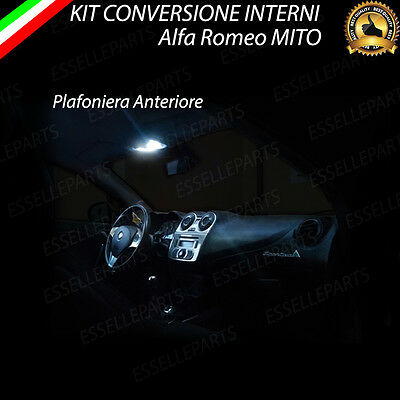 Kit Led Interni Plafoniera Alfa Romeo Mito Altissima Luminosita'