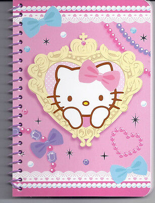 Sanrio Hello Kitty Spiral Notebook Sparkle