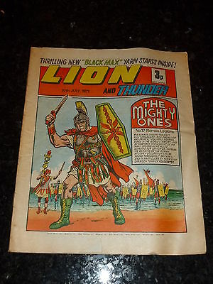 LION & THUNDER Comic (1971) - Date 10/07/1971 - UK Paper Comic