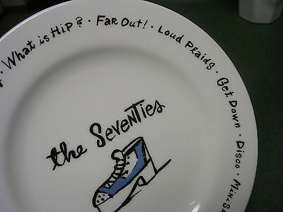 Pottery Barn The Seventies Plate