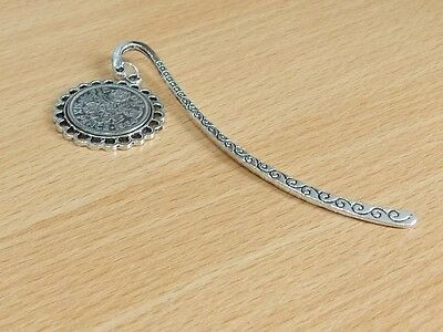 1970 47th Birthday Anniversary Sixpence Coin Bookmark with Shiny Sixpence Fine