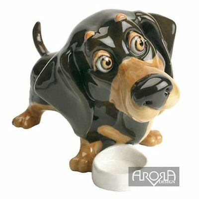 Little Paws  Filo the Dachshund Dog Figurine   NEW in Gift Box