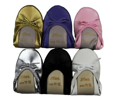 New Genuine Grosby Jiffies Girls Ballet Dance Flat Slipper Shoes All Colours