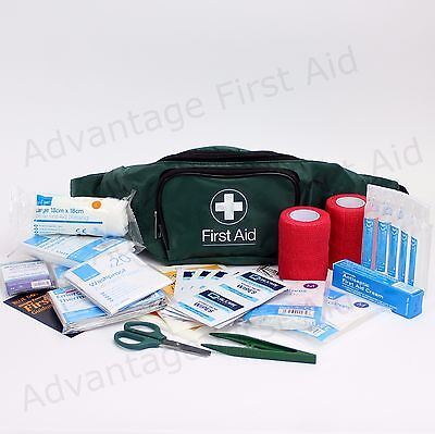 Horse & Rider / Equine First Aid Kit - Sturdy Bum Bag. Essential First Aid Qty 2