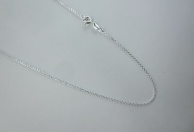 1.5mm,1.8mm,2.5mm,3mm,4mm Necklace 16 inch D//C Rope Chain .925 Sterling Silver