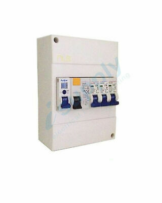6 pole Garage Surface Loaded Combination Switchboard Enclosure Circuit Breaker