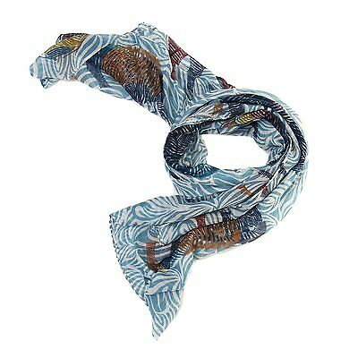 Ladies Womens Light Weight Summer Scarf Zebra Print Design 3 Colours