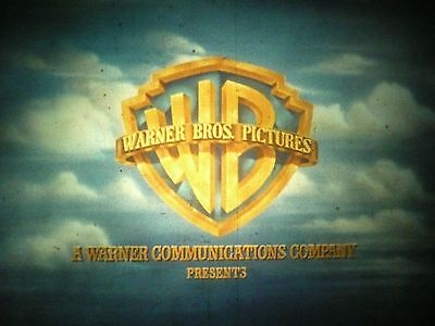 35MM - COMPANY LOGO for FEATURE FILMS  - WARNER BORTHERS - silent - 9 sec