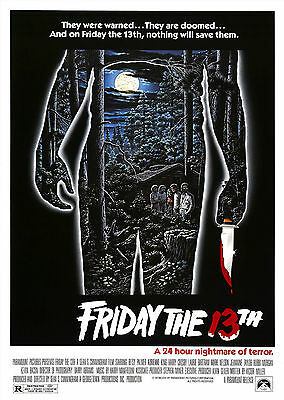 Friday the 13th (1980) - A1/A2 Poster **BUY ANY 2 AND GET 1 FREE OFFER**