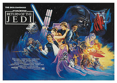 Star Wars Return of the Jedi V4 - A1/A2 Poster *BUY ANY 2 AND GET 1 FREE OFFER*