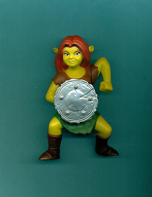 Shrek Forever After movie Princess Fiona talks Mcdonalds 4 1/2 inch figure SEE
