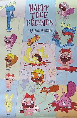HAPPY TREE FRIENDS-The End Is Near-Licensed POSTER-90cm x 60cm-Brand New