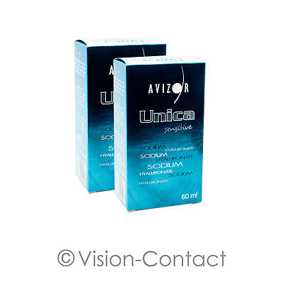 Avizor - 2x Unica sensitive - 60ml / 1x Behälter