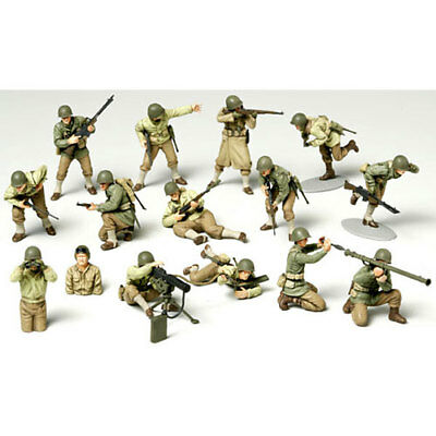TAMIYA 32513 WWII US Army Infantry GI Set 1:48 Military Model Kit